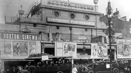 The Hoxton Gaumont Cinema in Pitfield Street, pictured in planning documents in its heyday