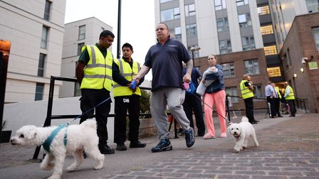Chalcots Estate residents were urgently evacuated, although they may have been living in unsafe home