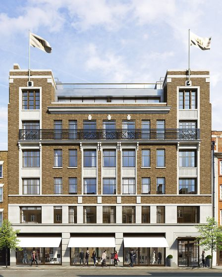 35-6 Marylebone High Street will retain the original 1930s facade