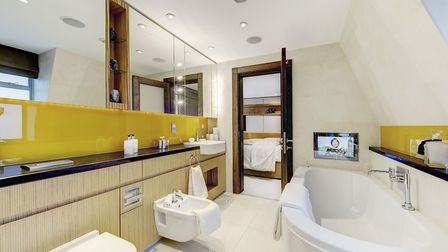 Making sure the bathrooms are modern and sparkling clean is vital for a luxury letting