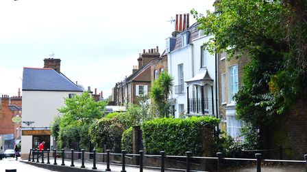 Data across prime areas of London including Hampstead showed more properties were withdrawn from the