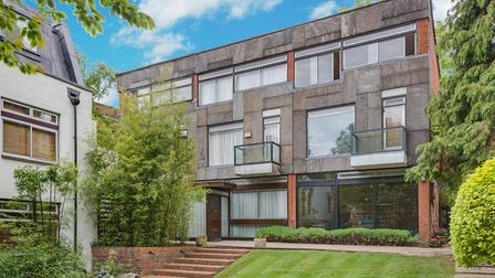 Properties in Oak Hill Park Mews are on the market in Hampstead Village, NW3 with TK, Benham and Ree