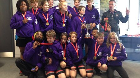 Hackney were the top borough in the London Youth Games road cycling competition at Lee Valley Velopa