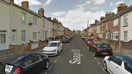 Two men hae been bailed after being charged in connection with a robbery on Seago Street in Lowestof