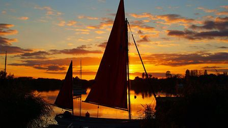 This shot of Oulton Broad's North Bay has won The Journal's Picture of the Week, Photo: Peter Waller