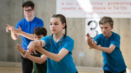 Hackney's Clissold Leisure Centre staged the 10th London Competition for Traditional Tai Chi Chuan (