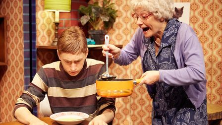 Birmingham Stage Company presents Gangsta Granny by David Walliams. Picture: Mark Douet