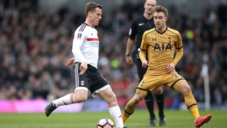 Scott Parker in action for Fulham against Tottenham Hotspur in the FA Cup (pic: Nick Potts/PA Images