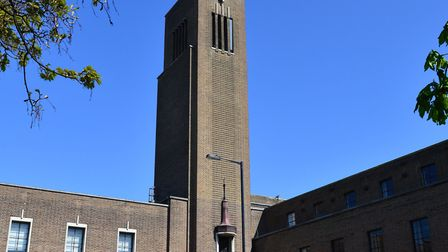 A meeting over redevelopment plans at Hornsey Town Hall has led to a public outcry. Picture: POLLY H