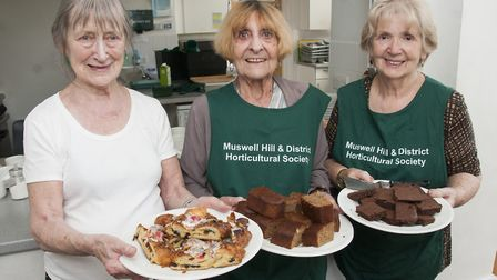The Tea ladies Fanina lucas,Yvonne Heath and Dorothy Blandford. Picture: NIGEL SUTTON