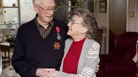 George and Phyllis Nutburn have celebrated their 72nd anniversary.Picture: Nick Butcher.