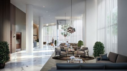 Paddington Gardens will offer 335 homes comprising 271 private apartments and 64 affordable homes
