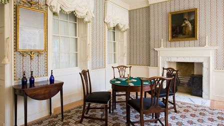 A parlour in 1790 modelled on an Islington residence with goods imported from Britain's expanding ov