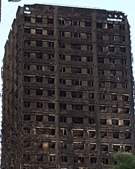 Gwynfor Hood's photo of the Grenfell Tower