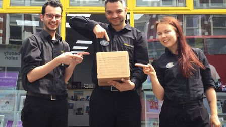 Snappy Snaps staff have got their 'odd one out' object ready too. Picture: ZOE NORFOLK