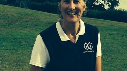 Julia Male hit a hole-in-one for Hampstead in the Inter-County finals of the Pearson Cup (pic: Hamps