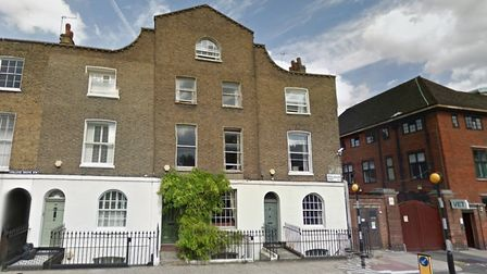 8 Royal College Street today, where Verlaine and Rimbaud spent a stormy three months before the flig
