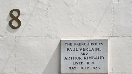 No 8 Royal College Street, London. Home to the French poets and partners, Paul Verlaine and Arthur R