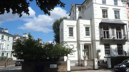The Italianate house at 6 Albert Terrace is at the centre of a neighbourhood planning row. Photo: Ph