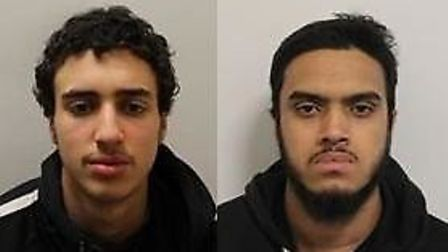Hamza El-Guerbouzi and Joynul Ali have been jailed 10 years and five years, respectively, for a stri