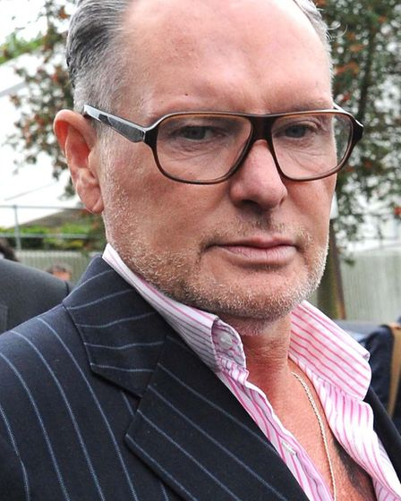 Former England footballer Paul Gascoigne who was taken to hospital after a fight at the Ace Hotel in
