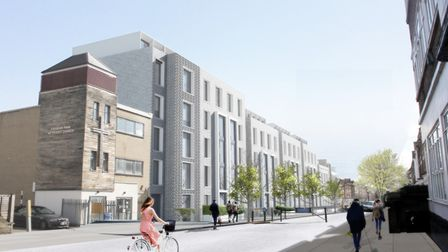 Rainbow Properties want to build 140 shared rooms in the block. Picture: Quatro
