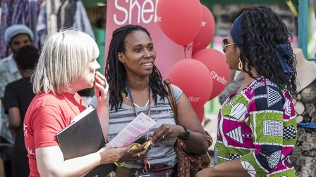 Hackney Council launched the campaign on Monday alongside Shelter, with a stall on Ridley Road Marke