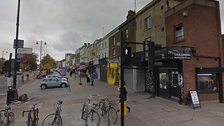The man, named locally as Rashan Charles, died after allegedly being tackled by police in a shop in