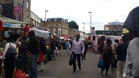 Ridley Road. Traders have warned they may take matters into their own hands if police are unable to