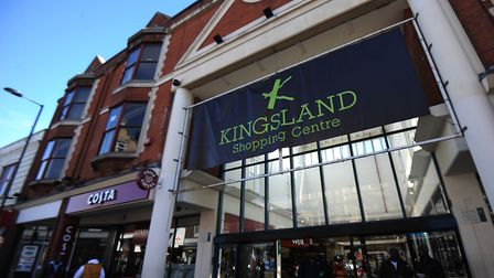 A file image of Kingsland Shopping Centre. Picture: David Mirzoeff