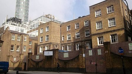 Consider yourself at home in one of the luxury apartments being built on the site of the former work