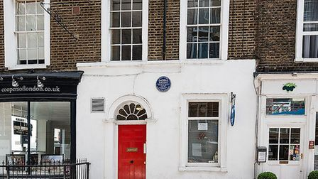 Charles Dickens lived just moments from the workhouse which is said to have inspired Mudfog's workho