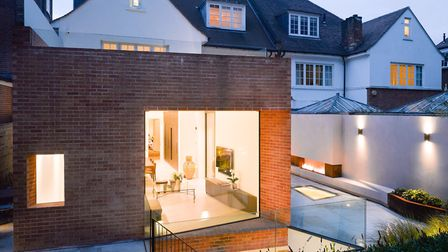 A modern extension in harmony with an Arts & Crafts style home on Ferncroft Avenue, Hampstead