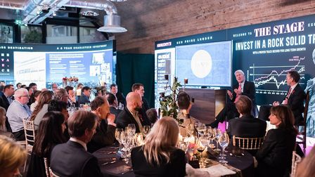 Jeremy Paxman is quizzed at the launch of The Stage, Shoreditch. Galliard had applied for an all-day