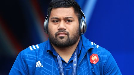 Christopher Tolofua has joined Saracens from French club Toulouse (pic: Adam Davy/PA)