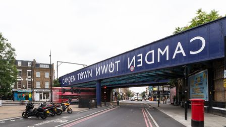 The mayor of London Sadiq Khan has pledged his support for the Camden highline. Picture: French+Tye