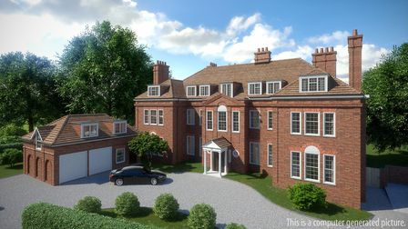14 Templewood Avenue is currently split into six apartments
