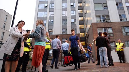 Residents were forced to leave their homes in Taplow and other buildings on 23 June Stefan Rousseau/