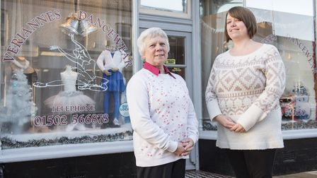 Donna with business owner Susan Quinlivan, who decided to hand over the management reins after more