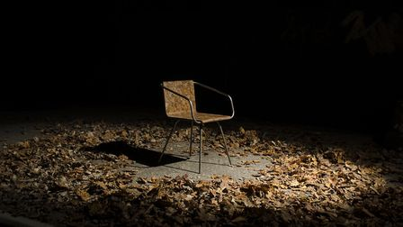 �imon Kern's unique Beleaf Chair made from a mixture of recycled leaves and bio-resin won PETA's Inn