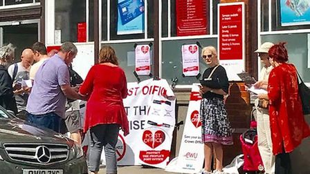 The Save Our Post Office Crouch End Residents' Group has launched an official boycott of the new ret