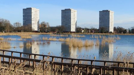 The Woodberry Down estate is the council's flagship regeneration project. Picture: Hackney Council