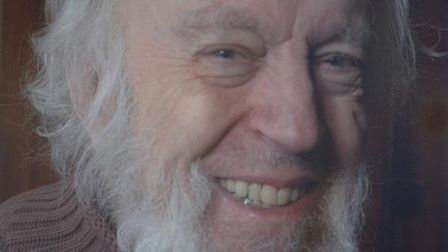 Poet John Horder died in his sleep on July 5. Picture: Chris and Carrie Ford