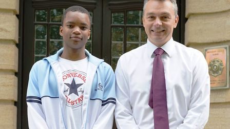 UCS Hampstead school students were awarded record results with 91 per cent getting A*-A in their GCS