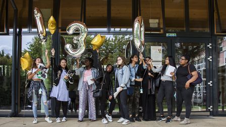 """Staff and students from Hornsey School for Girls in Crouch End are celebrating another year of """"fant"""
