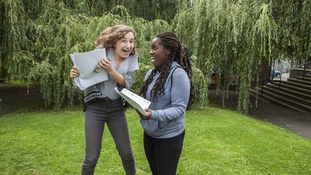 More than four-fifths of students achieved A*-C grades in statistics and further additional science.