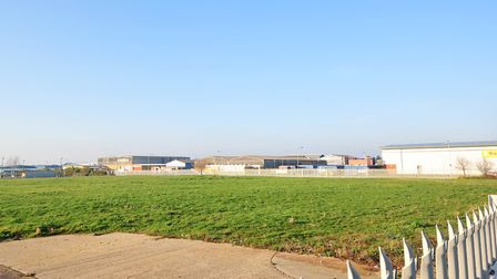 The Old Wessex Foods site on the South Lowestoft industrial estate.