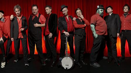 Urban Voodoo Machine play at the Blues Kitchen on Friday