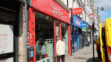 Ms Vickers estimated the Shelter Boutique loses about £800 a year through shoplifting. Picture: Davi