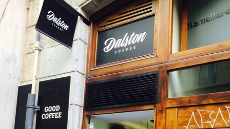Dalston Coffee in Barcelona. Picture: Emma Bartholomew